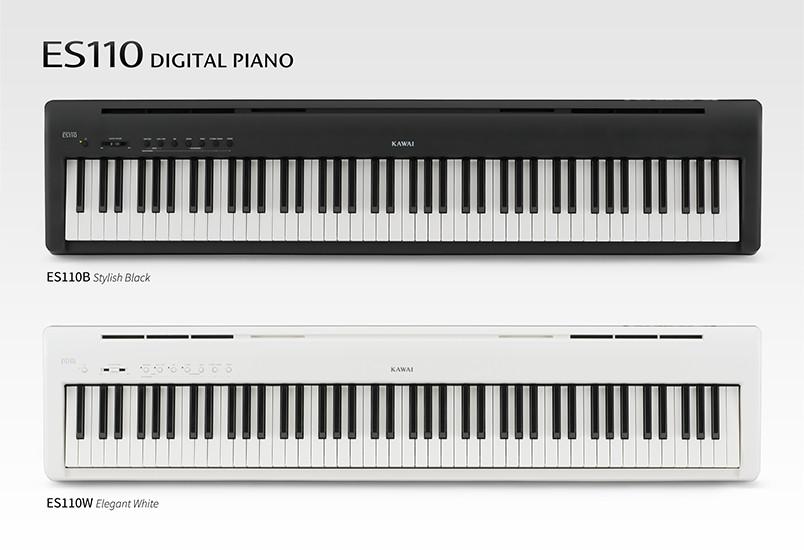 Kawai announces new ES110 ultra-portable digital piano