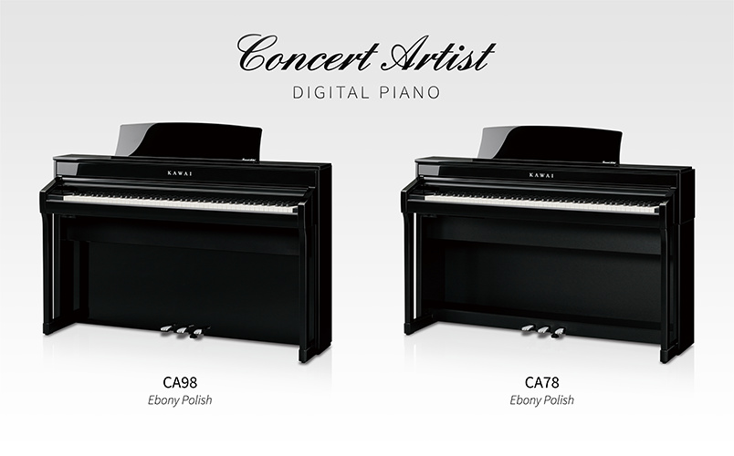 Kawai CA98 and CA78 ebony polish