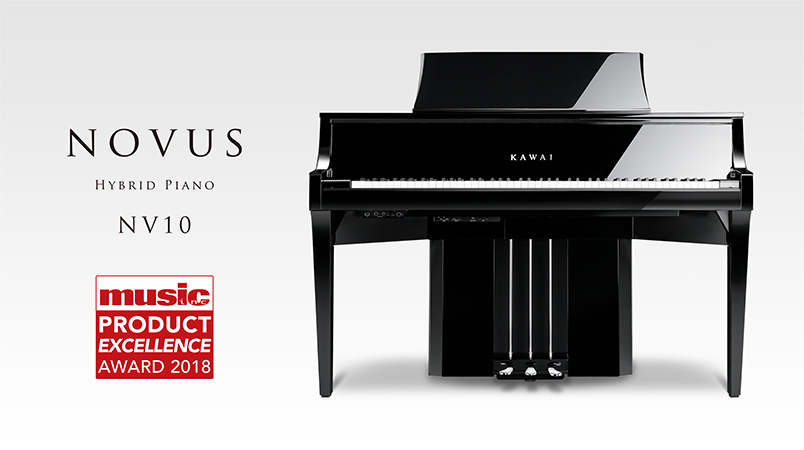 2018 Music Inc. Magazine 'Product Excellence' winner: Kawai Novus NV10