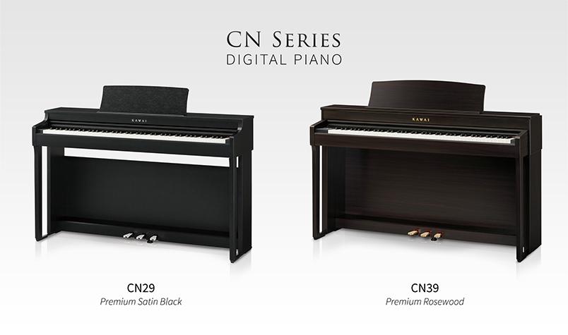 Kawai CN29 & CN39 digital pianos