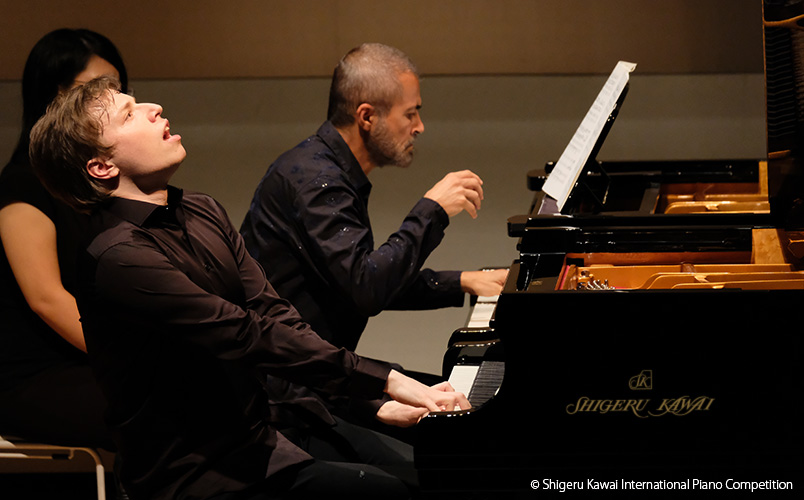 Ilya Shmukler, 1st prize winner of the 3rd Shigeru Kawai International Piano Competition
