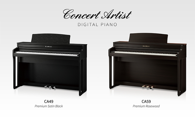Kawai Concert Artist CA49 & CA59 digital pianos