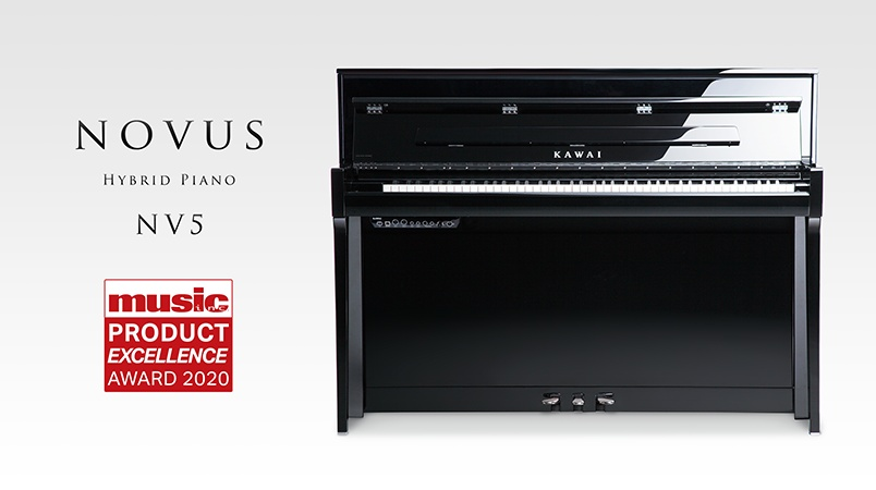 2020 Music Inc. Magazine 'Product Excellence' winner: Kawai Novus NV5.
