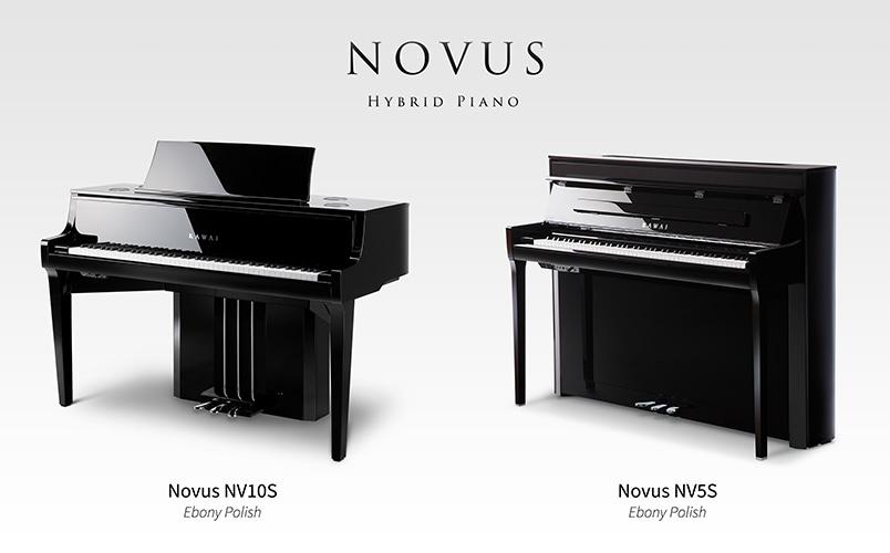 Kawai Novus NV10S & NV5S hybrid pianos